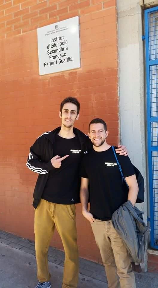 Xerrada sobre CFGS a càrrec dels nostres ex-alumnes Pedro Ballesteros i Adrià Bernases