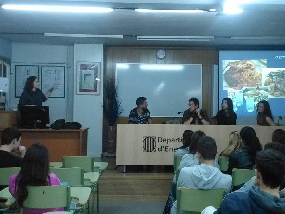 Xerrada Programa Erasmus a càrrec d'alumnes universitaris estrangers