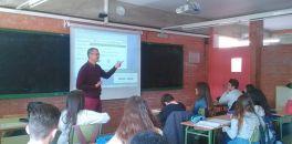 Xerrada sobre Sexualitat per a 3r d'ESO a càrrec de l'infermer Josep Fraj