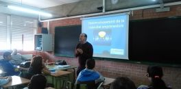 Taller sobre Emprenedoria a càrrec de Jordi Balcells i Antonio Gámez Aula Actual