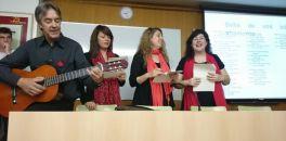 Recital poètic musical a càrrec de professorat i alumnat del centre